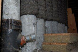 Ablaufrohr und Fortluftröhren aus Asbestfaserzement