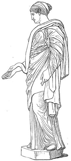 Hygíeia oder Hygeía ist in der griechischen Mythologie eine der Töchter des Asklepios. Sie ist eine Göttin der Gesundheit